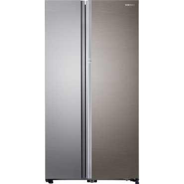 Samsung RH80J81323M/TL 868 Litres Side By Side Refrigerator - Silver | Steel