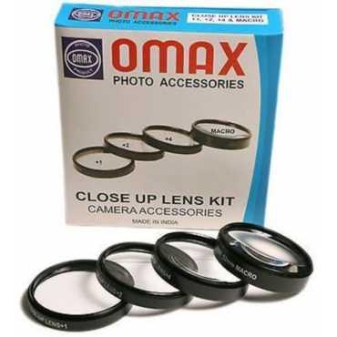 Omax 55mm Closeup Macro Lens Filter Kit