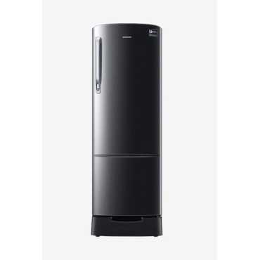 Samsung RR26N389ZBS/HL 255 L 3 Star Inverter Direct Cool Single Door Refrigerator - Black