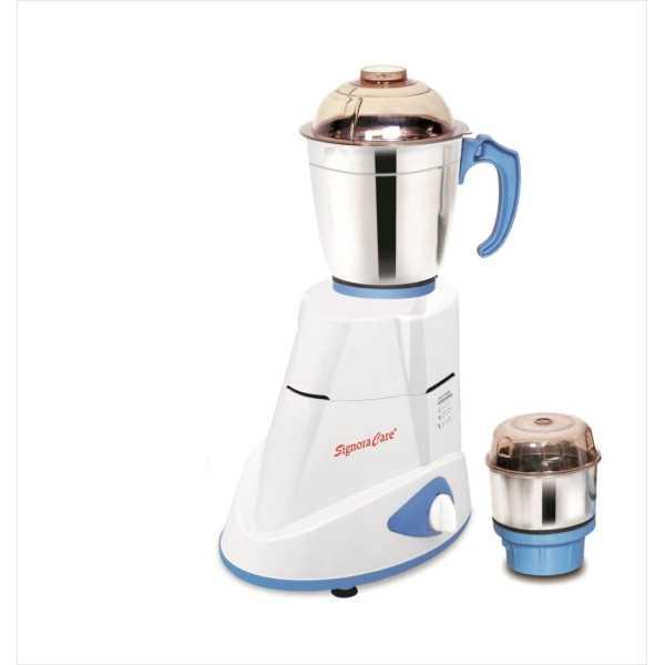 Signoracare Eco Super SCES-2915 550W Mixer grinder - White