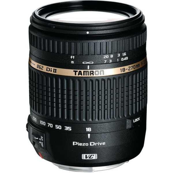 Tamron 18-270mm F/3.5 6.3 Di II VC PZD w/DA 18 Lens (for Canon DSLR)