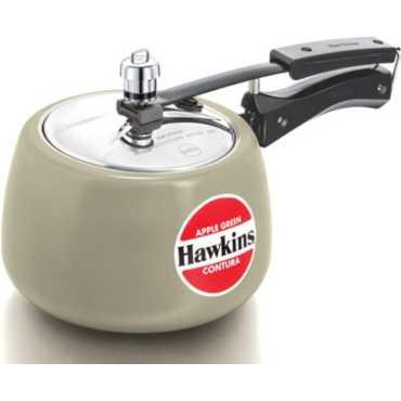 Hawkins Contura Apple Green CAG30 3 L Aluminium Pressure Cooker (Inner Lid) - Green