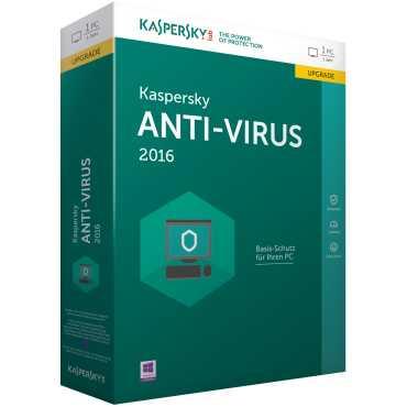 Kaspersky Antivirus 2016 10 PC 1 Year Antivirus