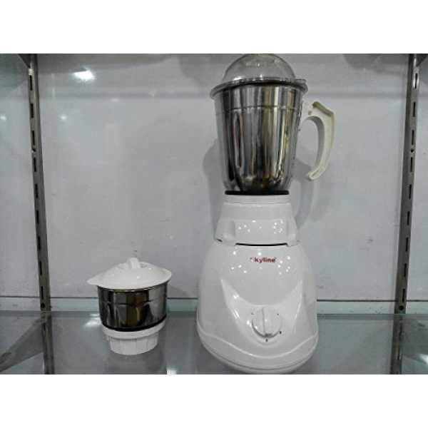 Skyline Elegant 750W Mixer Grinder (2 Jars) - White