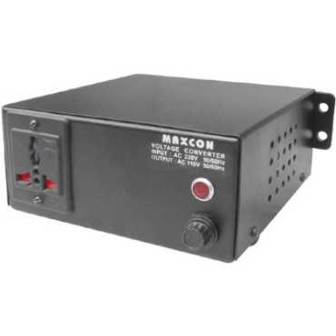 MX 3120A Voltage Converter (200 Watts) 1 Single Adapter Surge Protector - Black