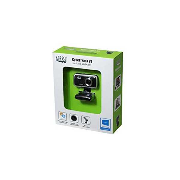 Adesso CyberTrackV1 1.3MP USB Webcam
