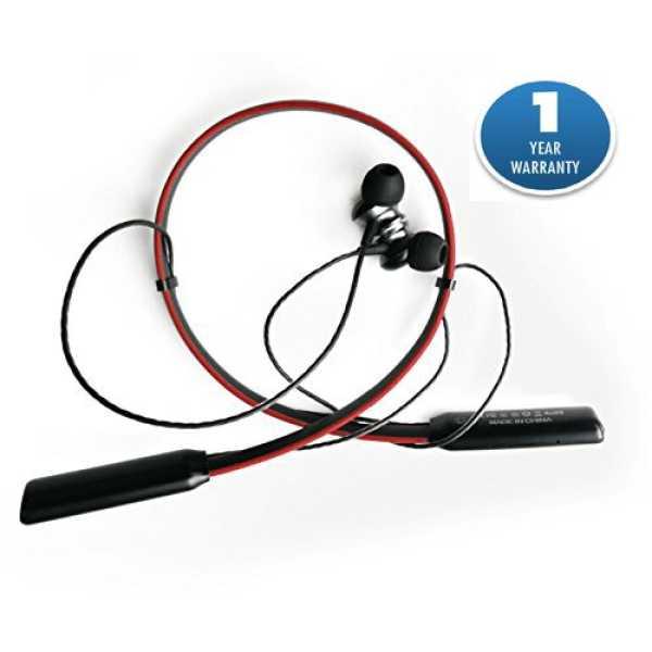 Acid Eye TM NE01 Bluetooth Headphones - Red