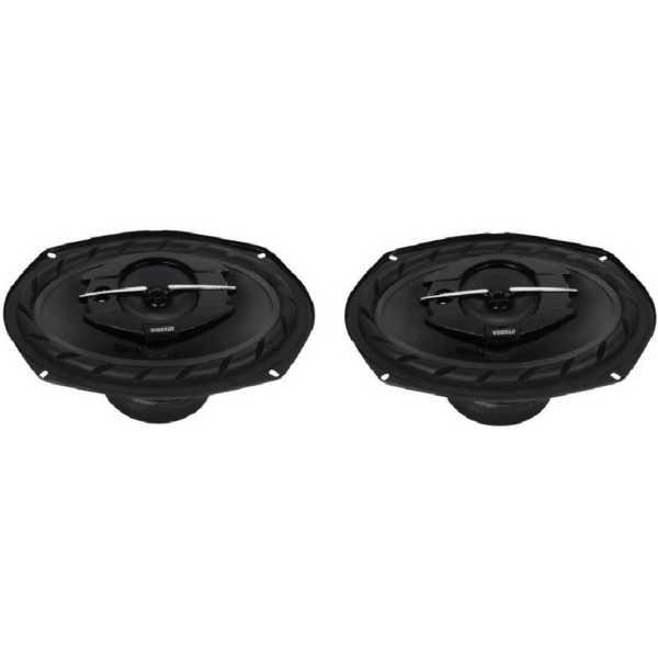Woodman Oval 6953 6 Inch Coaxial Car Speaker (520 W)