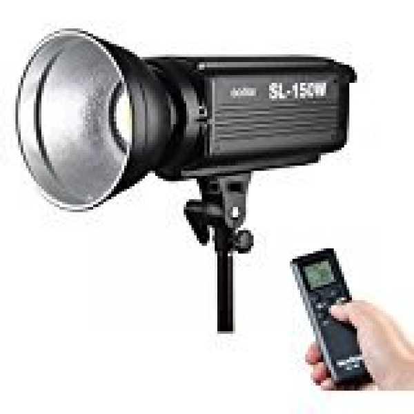 Godox SL-150W 5500K Bowens Continuous LED Flash - Black