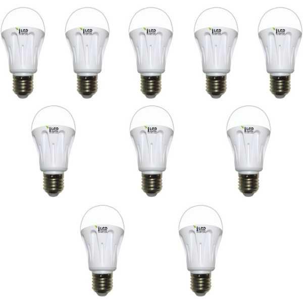 Imperial 9W E27 3570 LED Premium Bulb (White, Pack of 10) - White
