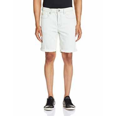 Men s Cotton Shorts 8907242027692_259896619_36_Blue-Ss