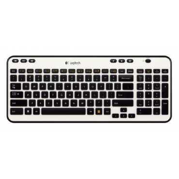 Logitech K360 Wireless Keyboard - Black | Silver