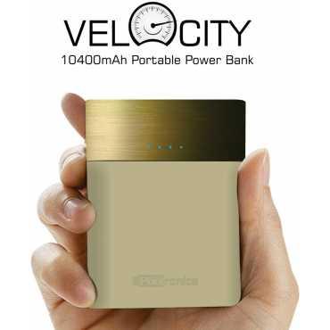 Portronics POR-546 Velocity 10400mAh Power Bank - Black