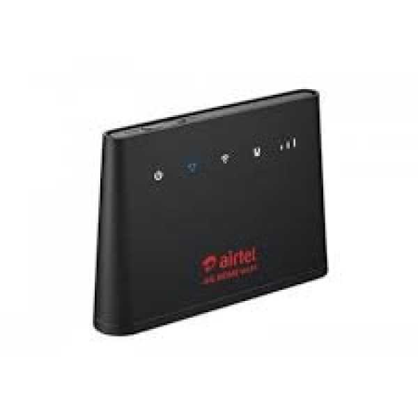 Airtel B310S-927 4G Router - Black