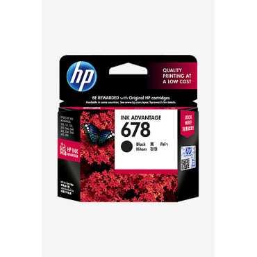 HP 678 Black Ink Cartridge - Black