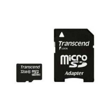 Transcend TS32GUSDHC10 32GB Class 10 MicroSDHC Memory Card