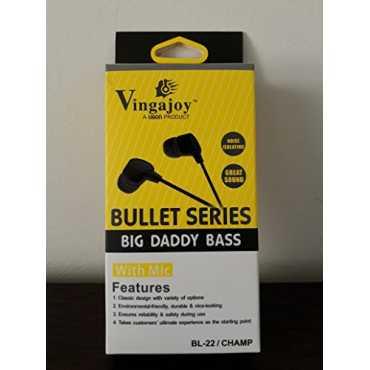 UBON Vingajoy BL-22 Champ Audio Bass In Ear Headset - Black