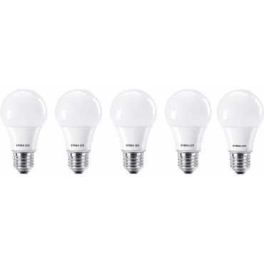 Syska 9W Standard E27 900L LED Bulb White Pack of 5