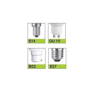 IPP 9W B22 Plastic Body White LED Bulb (Pack of 4) - White