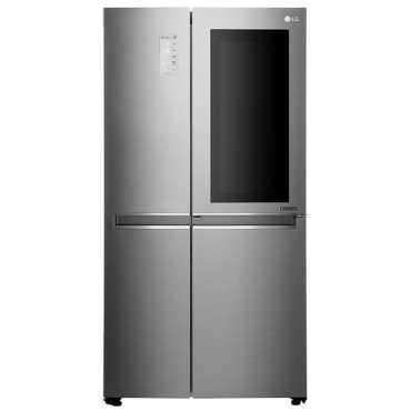 LG GC-Q247CSBV 687 L 3 Star Inverter Frost Free Side By Side Door Refrigerator - Steel