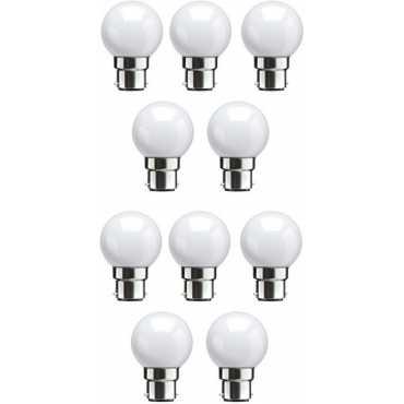 Syska 0.5W White LED Bulbs (Pack Of 10) - White
