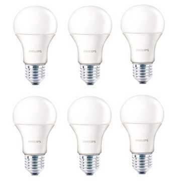 Philips 14W E27 LED Bulb Cool Day Light Pack Of 6