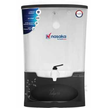 Nasaka Tulip A1 8L RO Water Purifier - Black
