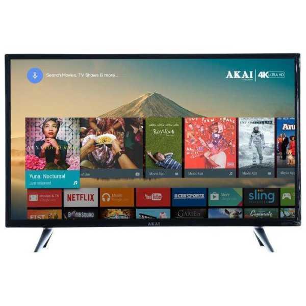 Akai 43 Inch AKLT43-DNI43SV Full HD Smart LED TV