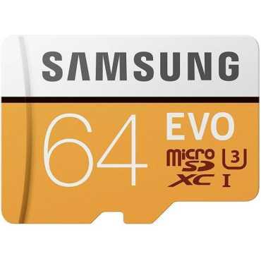 Samsung EVO 64GB MicroSDXC Class 10 UHS 3 100MB s Memory Card