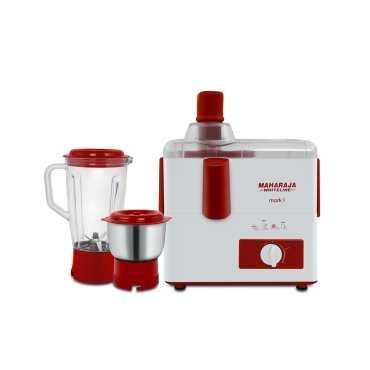 Maharaja Whiteline Mark 1 JX-201 450W Juicer Mixer Grinder - White | Red