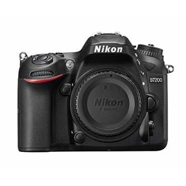 Nikon D7200 DSLR Camera (Body Only)  - Black