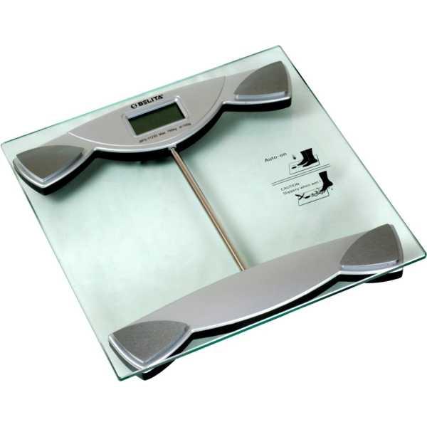 Belita BPS-1123 Personal Digital Weighing Scale - Silver