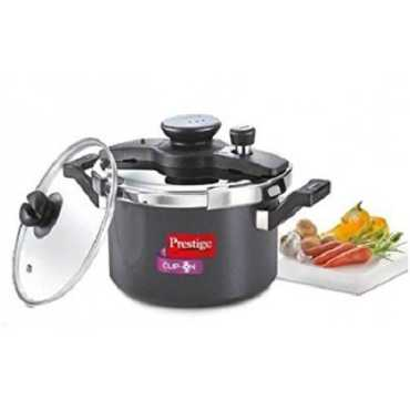 Prestige Clip On Mini Hard Anodized 3 L Pressure Cooker Induction Bottom Outer Lid
