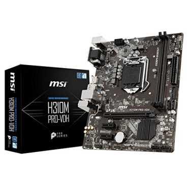 MSI (H310M PRO-VDH) LGA 1151 DDR4 Motherboard - Black