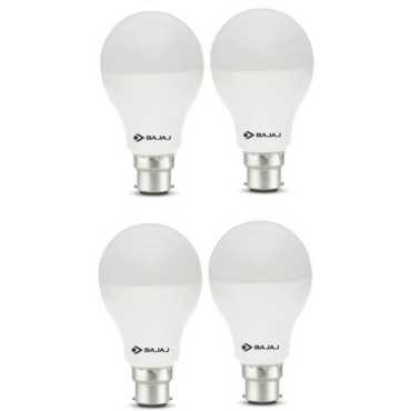 Bajaj Corona 12W Standard B22 1200L LED Bulb (White,Pack of 4) - White