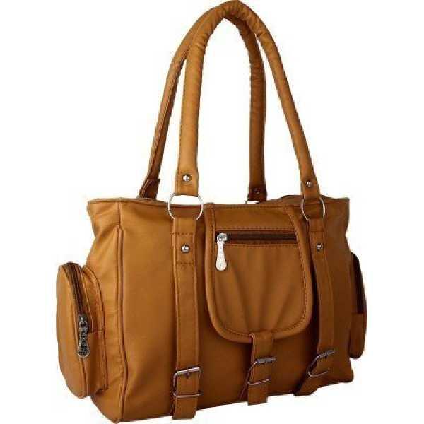 Orange Stylish ring look Big Women Handbag sale gifts