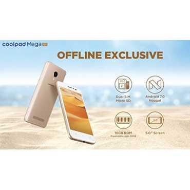 Coolpad Mega 4A - Gold | Beige