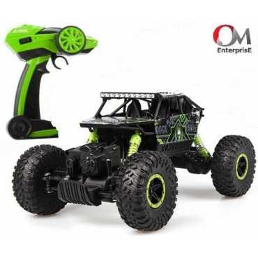 om enterprise 1:18 Scale Rock Crawler Green
