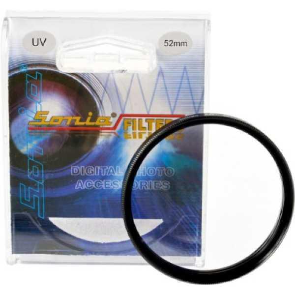 Sonia 52 mm UV Filter