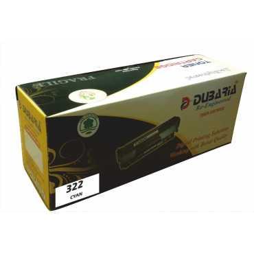 Dubaria 322 Cyan Toner Cartridge - Blue