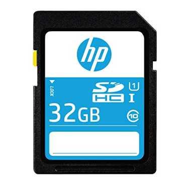 HP SD210 32GB Class 1 80 Mb s SDHC Memory Card