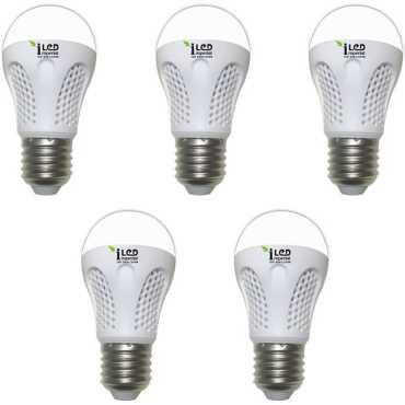 Imperial 4W-CW-E27-3526 LED Premium Bulb (White, Pack of 5) - White