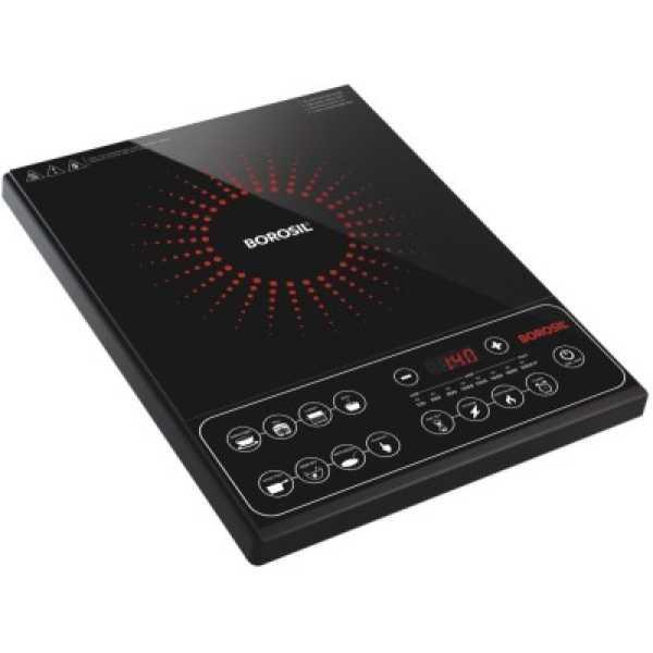 Borosil Smart Kook PC21 2000W Induction Cooktop - Black
