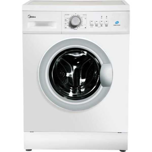 Midea 7 Kg Fully Automatic Front Load Washing Machine (MWMFL070HEF) - White