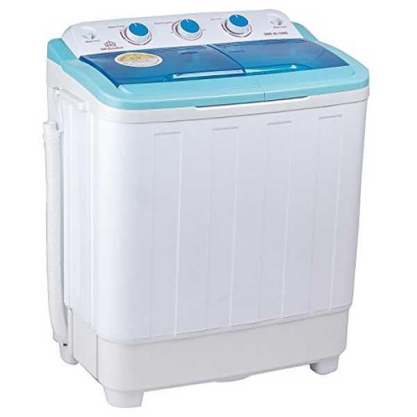 DMR MaxxxWash 46-1298S 4.6 Kg Semi Automatic Mini Washing Machine - Blue