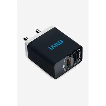 Mivi 5.4A Dual Port USB Car Charger - Grey | Black