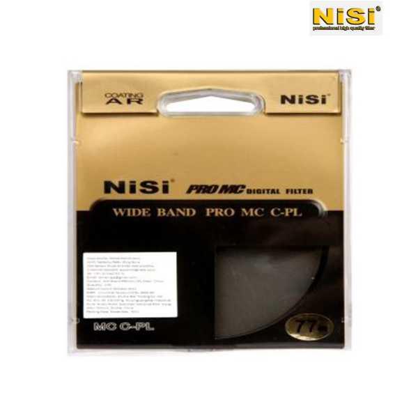 Nisi 77 mm Circular Polarizer Filter