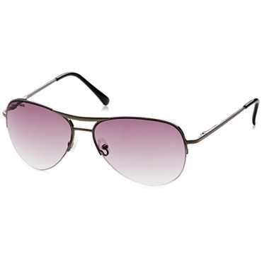 UV Protected Aviator Women Sunglasses M083GY1F 63 millimeters Grey