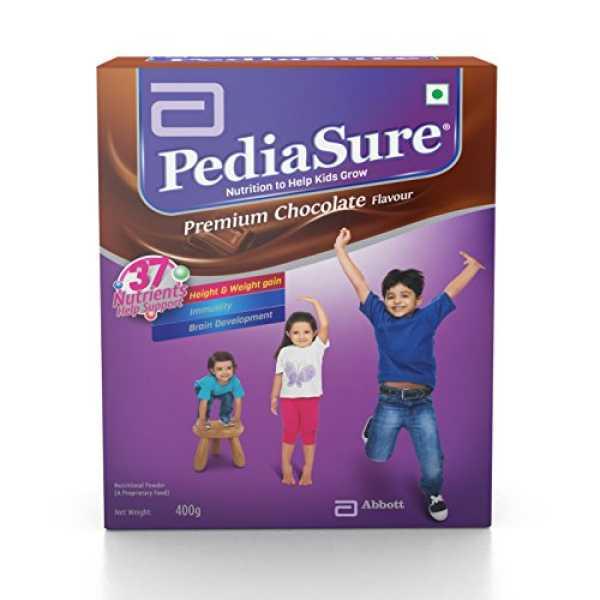 Abbott Pediasure Whey Protein (400gm, Chocolate) - Brown