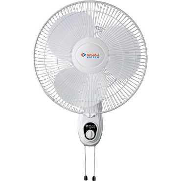 Bajaj Esteem 3 Blade (400mm) Wall Fan - White